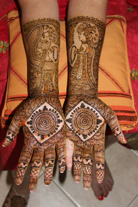 Bridal Mehndi Artist Uk :